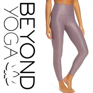 Beyond Yoga • High Waist Twinkle Legging • NWT